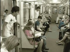 Сальто в метро