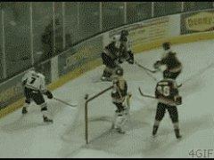 Хоккейное издевательство