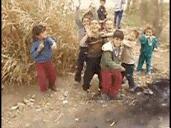 Дети и боевики