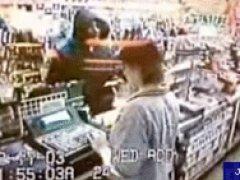 Безоружный грабитель