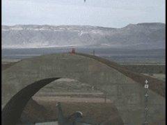 Ракета и взрыв моста