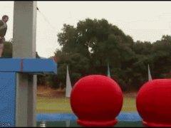 Преодолел три шара