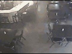 Олень в баре