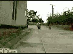 Профи на мотоцикле