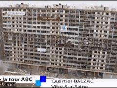 Крушение большого здания
