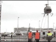 Плачевная авария вертолёта