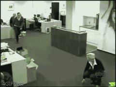 Офисные шутки