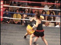 Женский бой без правил