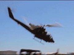 Крушение вертолёта в пустыне