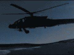 Крушение вертолёта Апачи