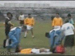 Первая помощь на футбольном поле