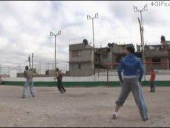 Футбол в стиле Шаолинь