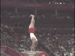 Красивая съемка олимпийских прыжков