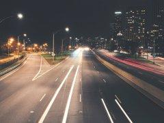 Огни дорог