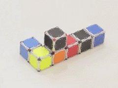 Самоскладывающиеся робо-кубики