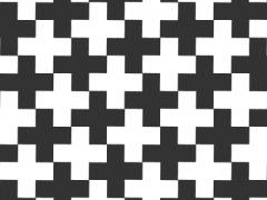 Иллюзия с крестиками