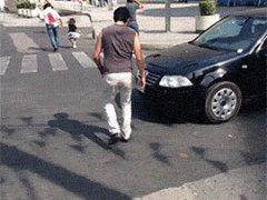 Тролинг водителя