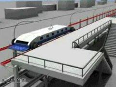Модель поезда без остановок