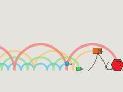 Цветовые волны в движении