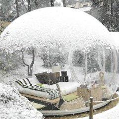 Уютное местечко зимой