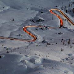 Дорога среди снегов