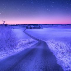 Волшебная Норвежская зима